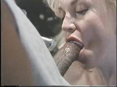 Blonde biker milf with big tits Chessie Moore gets fucked by BBC