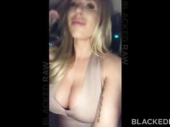 Busty blonde trophy wife proudly shows her hubby the BBC that's she gonna worship tonight. Watch her get fucked in multiple positions, including missionary and cowgirl.