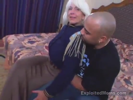 Blonde gilf cougar gets doggy by bbc