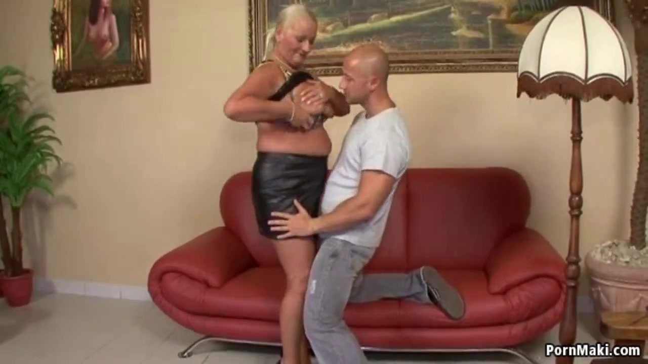 Blonde german mature fucked hard by immigrant