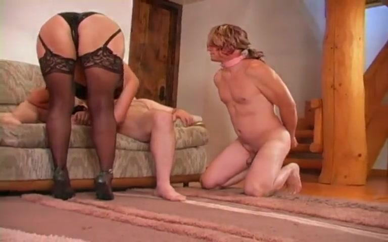 Cuckold mistress wife humiliates her cuck
