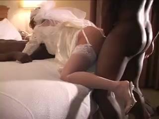 White cuckold wedding-night bride gets 2 bbc's