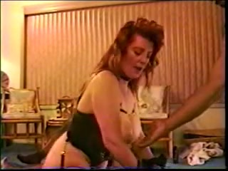 Big titted white mature bitch gets bbc's