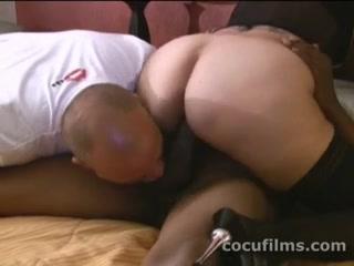 Sexy big assed milf wife rides black dick