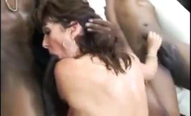 Black bulls gang fuck white mom feed her w cum