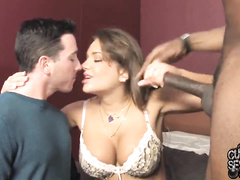 Hot Slutwife from ukraine gets bbc in front of cuckold
