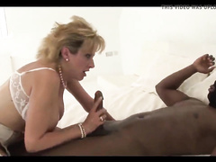 British mature brutally forced to get black cock