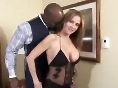 Latina hotwife Rio in bodystockings fucked by massive BBC