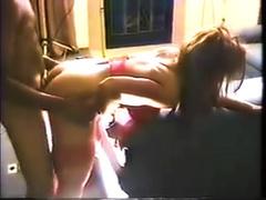 Hardcore Homemade Interracial Gangbang w Bodybuilder MILF Racquel (Cyndy Jones)